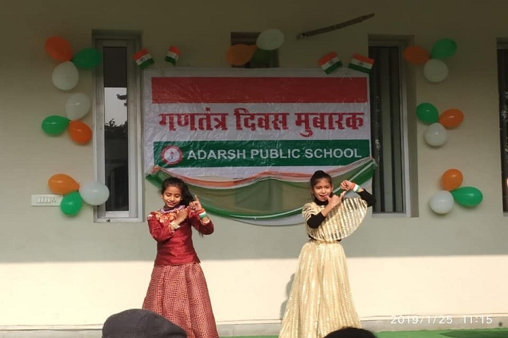 Adarsh Public School-independence day