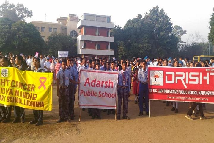 Adarsh Public School-rally