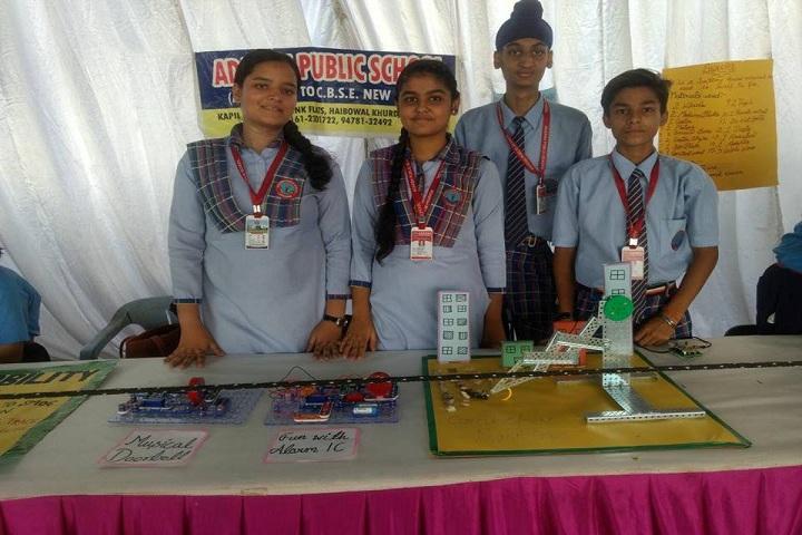 Adarsh Public School-science exhibition