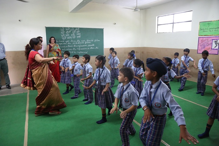 Adarsh Public School-Dance