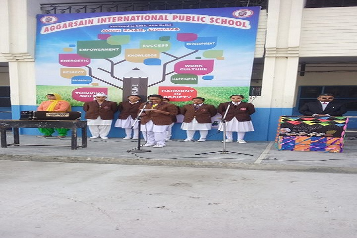 AGGARSAIN INTERNATIONAL PUBLIC SCHOOL-fest