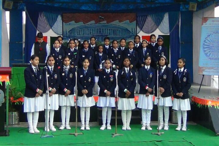 Air Force School-Group Singing