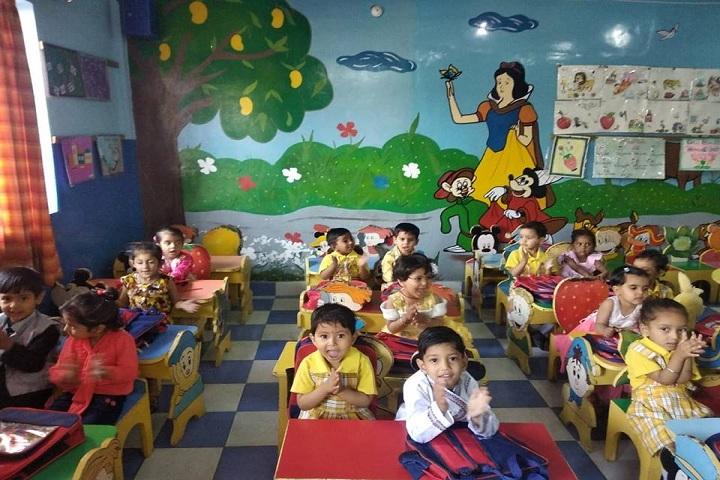 AJANTA PUBLIC SCHOOL-KG classroom