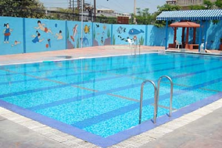 AJANTA PUBLIC SCHOOL-swimming pool