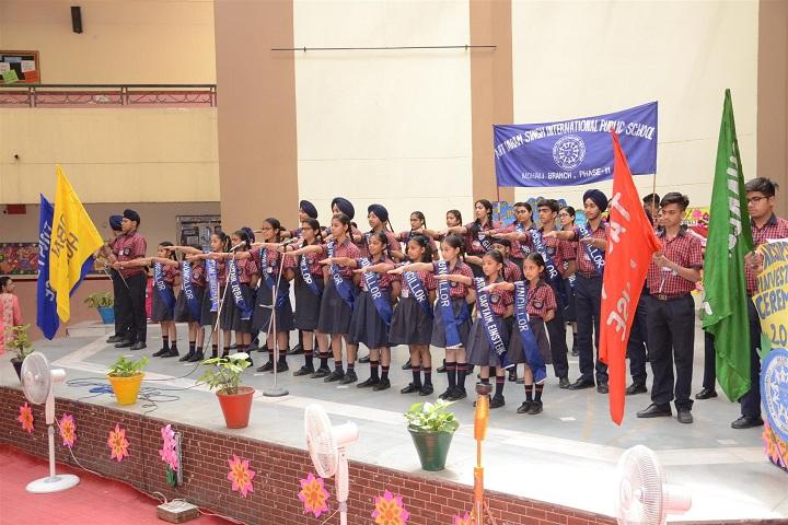ajit karam singh international public school-Investiture cermony1