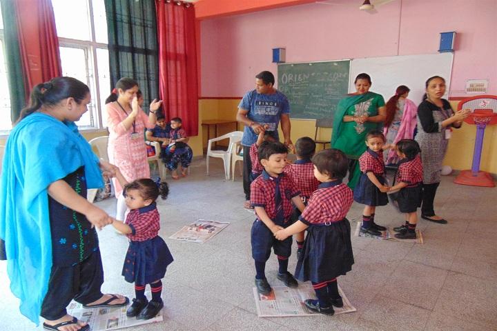 ajit karam singh international public school-KG activity