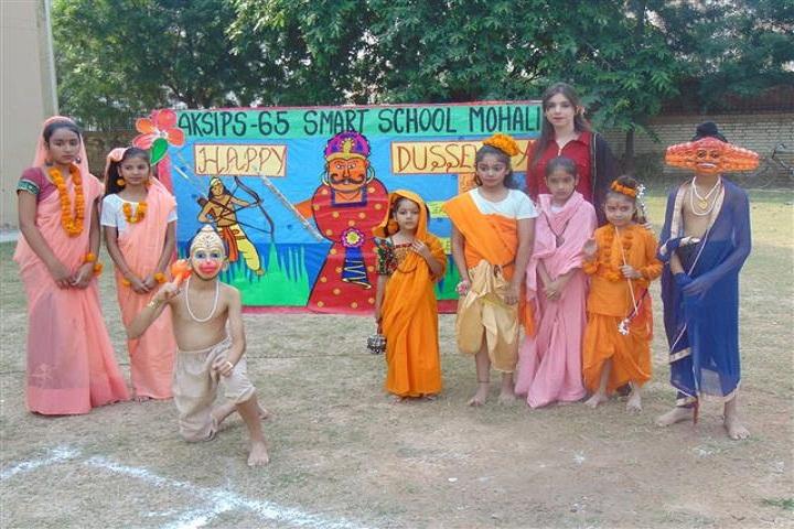 ajit karam singh international public school-dussera
