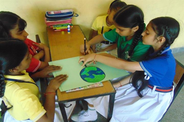 ajit karam singh international public school-earth day