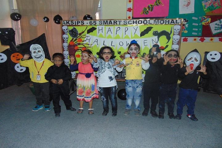 ajit karam singh international public school-halloween