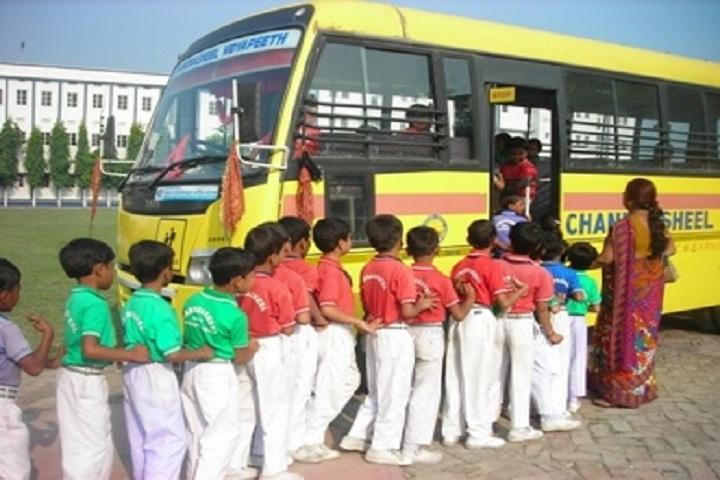 Chandrasheel Vidyapeeth-Transport