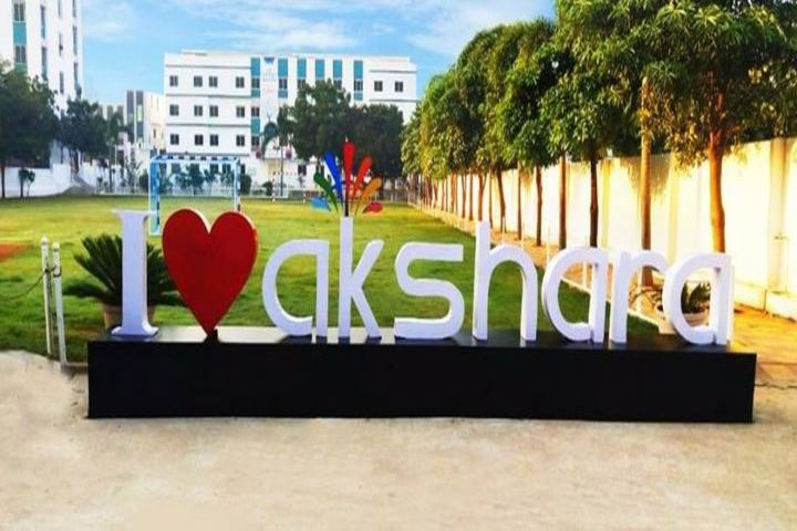 Akshara The School-Campus View