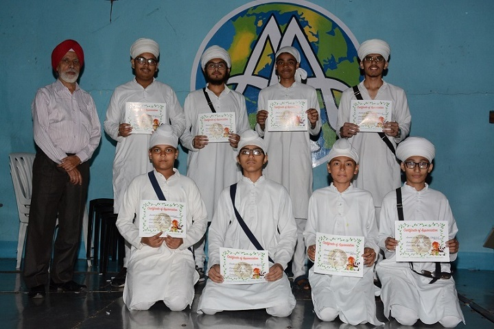 Akal Academy-Quiz Competition Winner