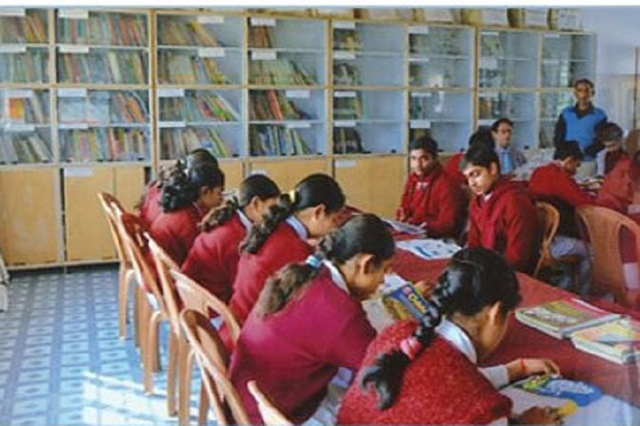 Gyan Bharti Model School-Library