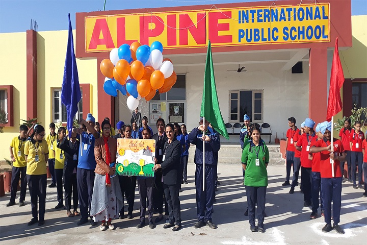 Alpine International Public School-Campus