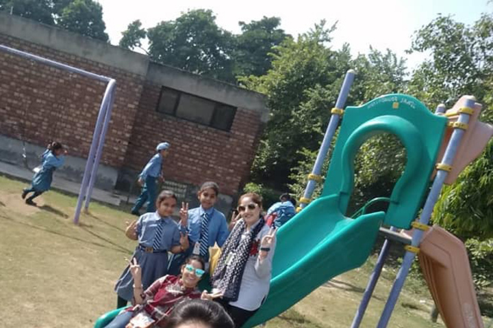Alpine International School-Kids Playing Area