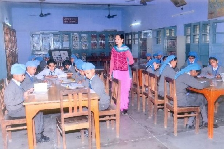 Amarpuri Senior Secondary Public School-Library