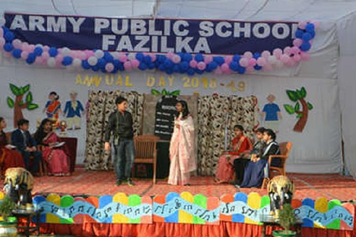 Army Public School-Skit
