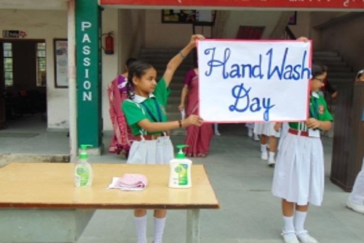 Army Public School-Hand Wash Day
