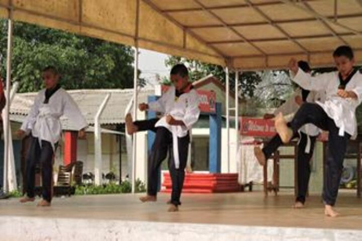 Army Public School-Karate