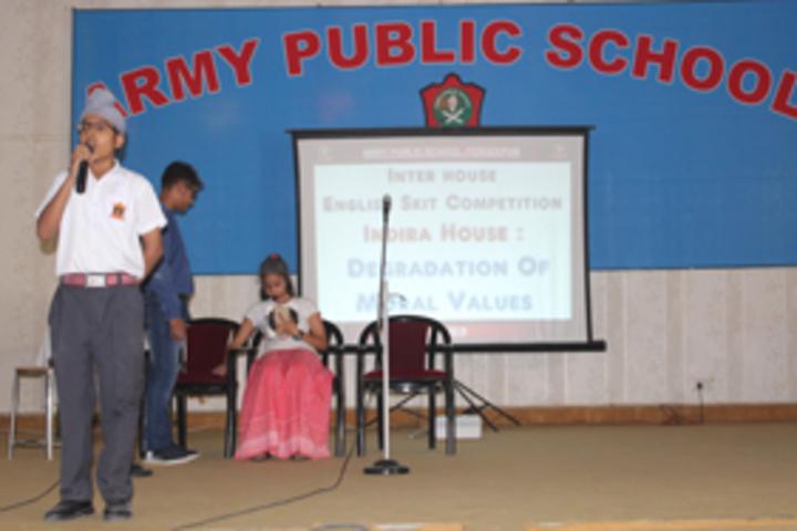 Army Public School-Decalmation