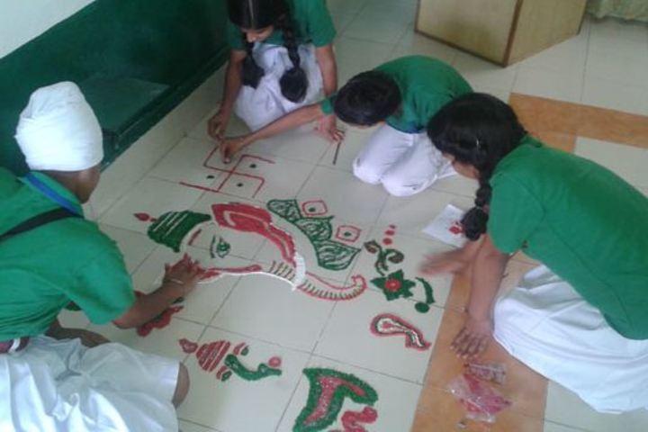 Army Public School-Festival Celabrations