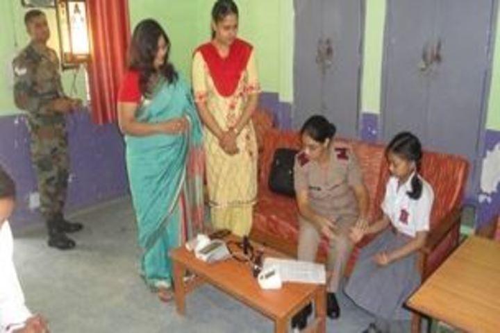 Army Public School-Medical Checkup