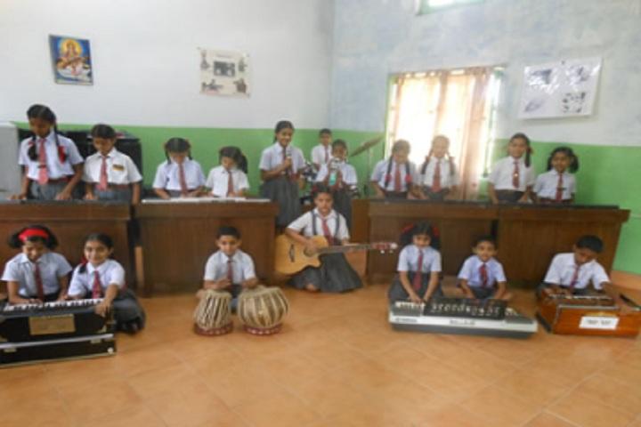 Army Public School Kandrori-Music Room