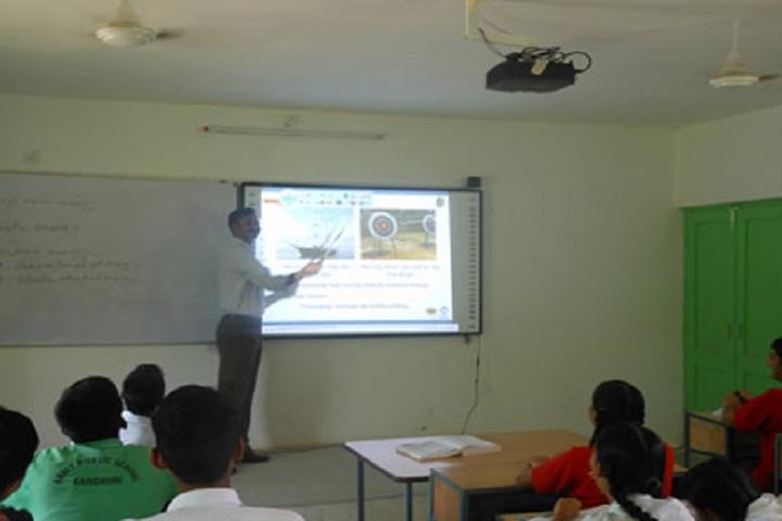 Army Public School Kandrori-Classroom smart