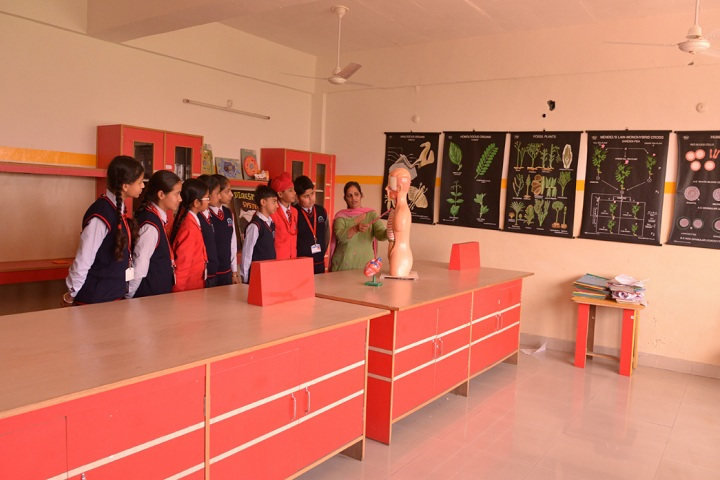 Aryabhatta International School-Biology Lab