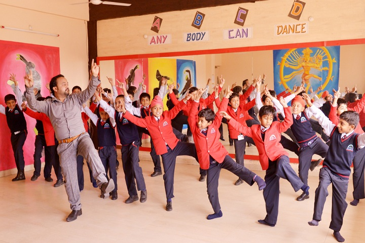 Aryabhatta International School-Dance Room