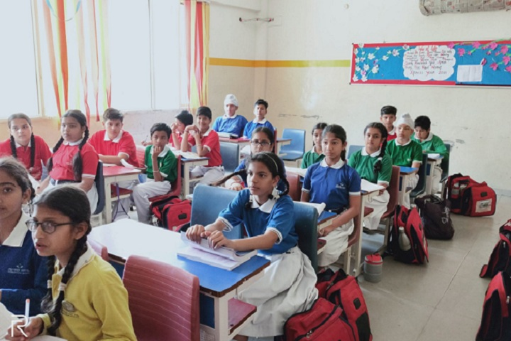 Aryabhatta International School-Classroom