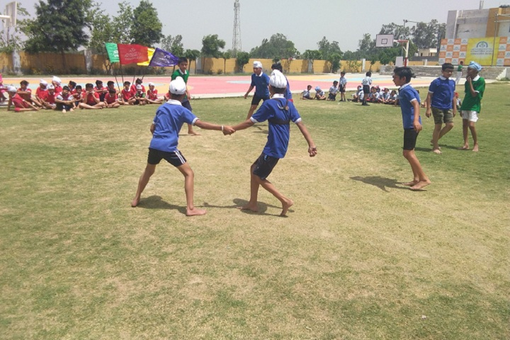Aryabhatta International School-Sports kabbadi
