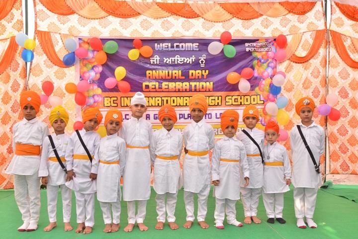 B C International High School-Events annual day