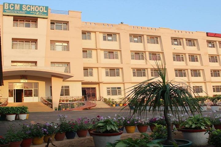 B C M School-Campus-View front