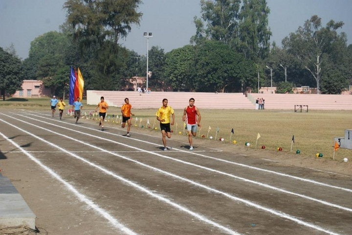 B S F Senior Secondary School-Running Race