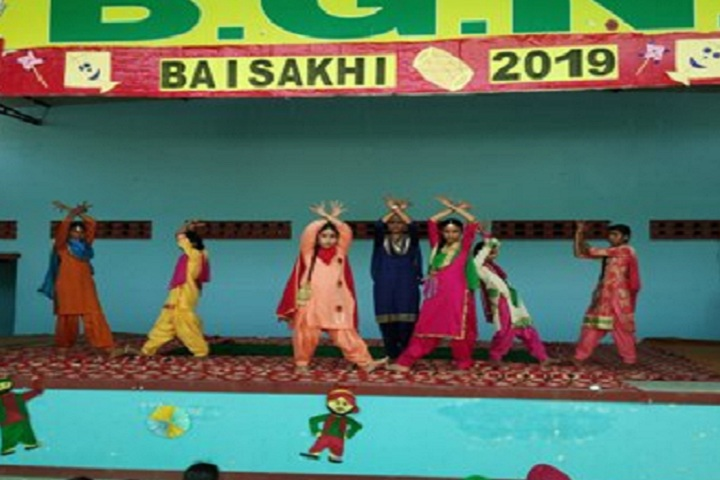 BGN Adarsh Public School-Events celebration