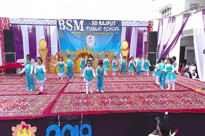 BSMSD Rajput Public School- Group Dance