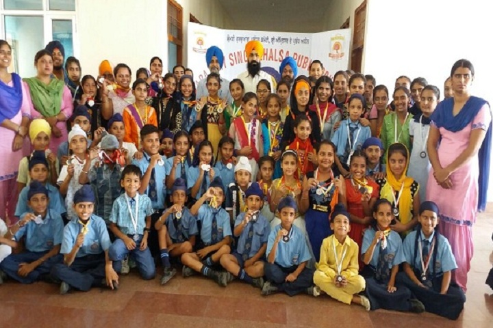 Baba Ajay Singh Khalsa Public School-Group Photo
