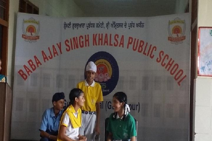 Baba Ajay Singh Khalsa Public School-Skit