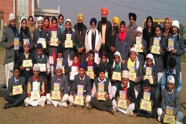 Baba Ajay Singh Khalsa Public School-Student with certificates