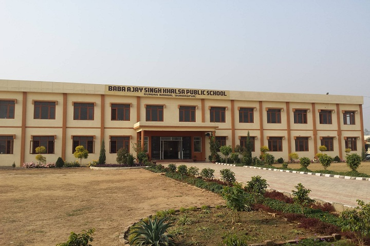 Baba Ajay Singh Khalsa Public School-Campus-View