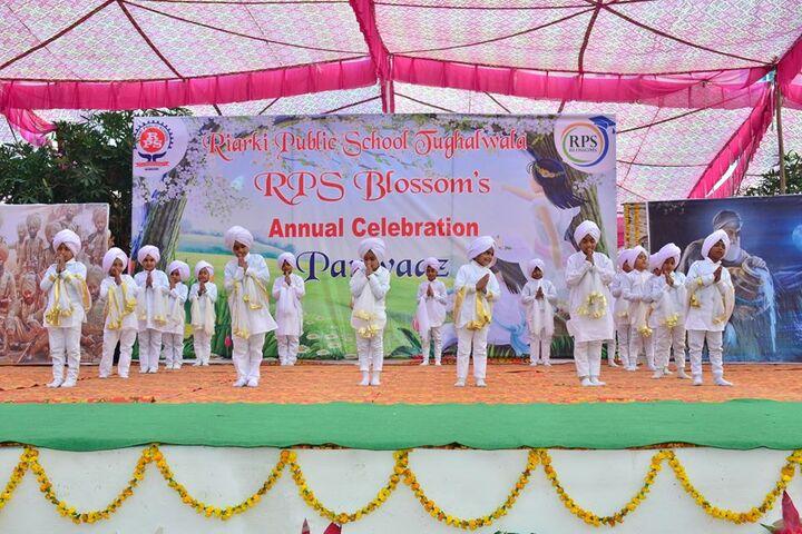 Baba Aya Singh Riarki Public School-White Day