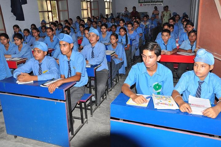 Baba Banda Singh Bahadur Public School-Classroom