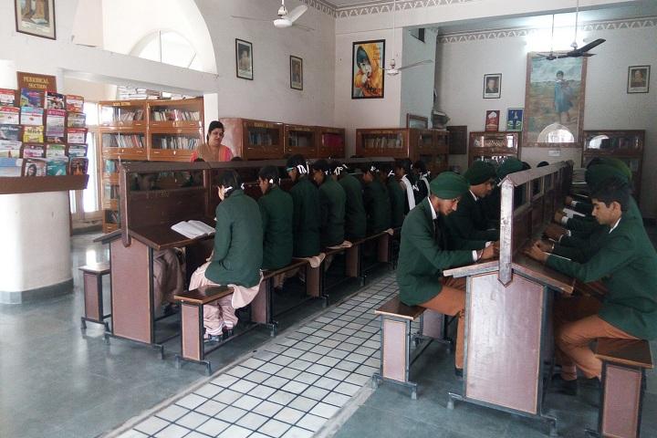 Baba Farid Public School-Library