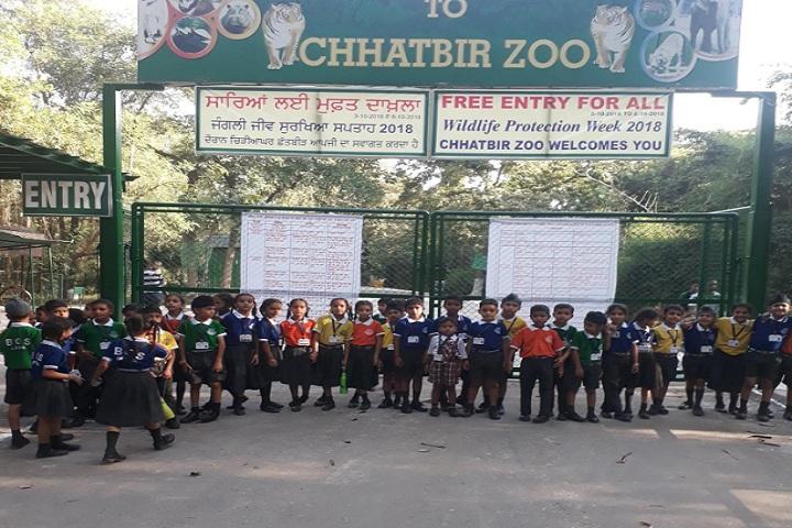 Baba Ganda Singh Public Senior Secondary School-Visiting Zoo