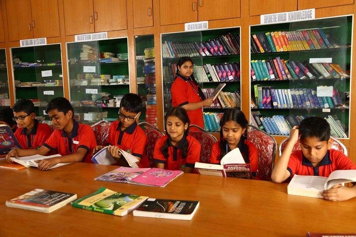 Akshara Vaagdevi International School-Library