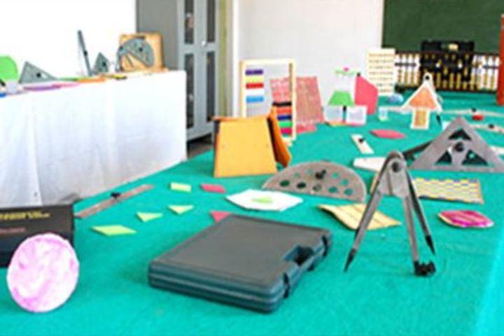 Akshara Vaagdevi International School-Maths Lab