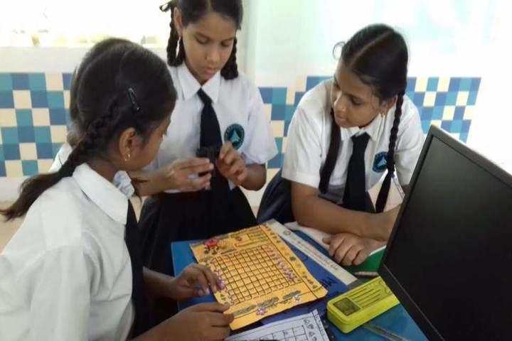 Akshara Vaagdevi International School-Physics Lab