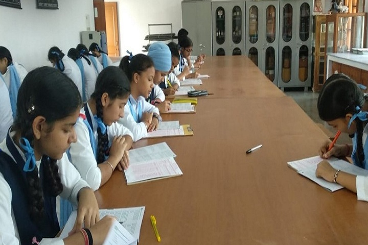 Baba Gandha Singh Public School-Library with reading room