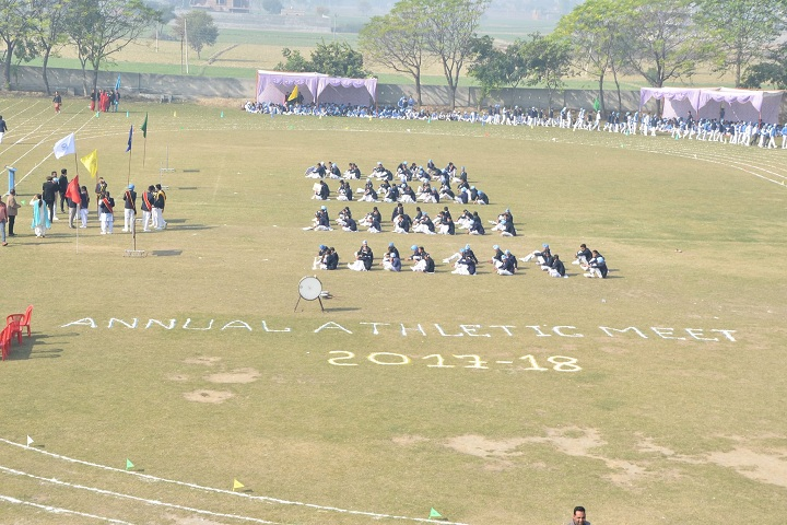 Baba Gandha Singh Public School-Events sports day programme